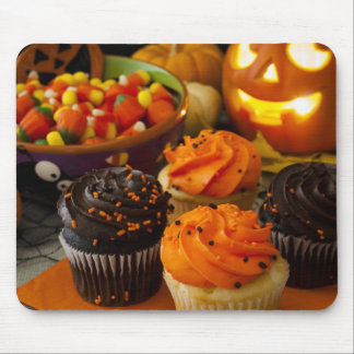 Halloween Cupcakes Mouse Pad