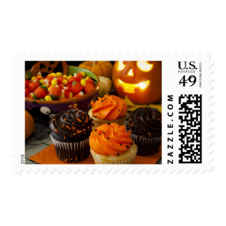 Halloween Cupcakes Postage