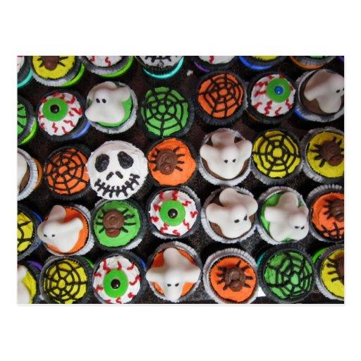 Halloween Cupcakes Postcard