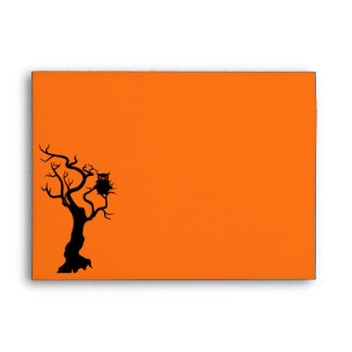 "Halloween Custom Envelopes 7 ¼"" x 5 ¼"""