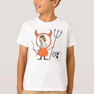 Halloween Custom Photo Funny Kids T Shirt Skull