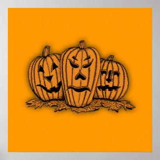 halloween custom poster