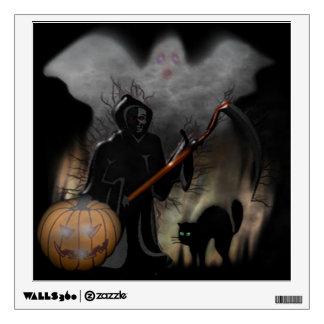 Halloween Custom Wall Decal/Grim Reeper Wall Decal
