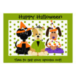 Halloween Customer Thank You Custom Announcement