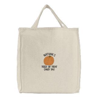 Halloween Customizable Trick or Treat Bag
