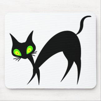 Halloween cute decorative cat idea mouse pad