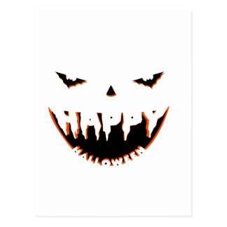 Halloween cute design postcard