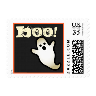 Halloween Cute Ghost Black White Gift Collection 5 Postage