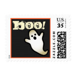Halloween Cute Ghost Black White Gift Collection 5 Stamps