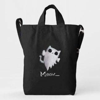 Halloween cute ghost cat duck bag