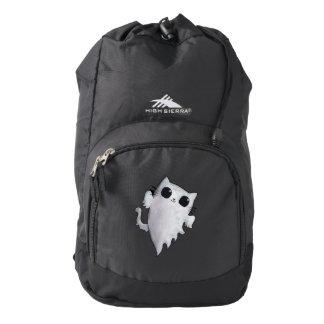 Halloween cute ghost cat high sierra backpack