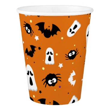 Halloween cute pattern paper cup