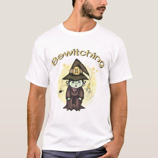 Halloween Cute Witch Black  T-Shirt