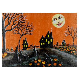 Halloween cutting board,Ripening J-O-L's Cutting Board