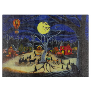 Halloween cutting board,witches,black,cats cutting board