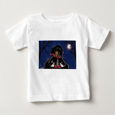 Halloween Themed Halloween Dachshund Baby T-Shirt