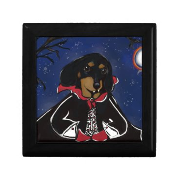 Halloween Themed Halloween Dachshund Jewelry Box