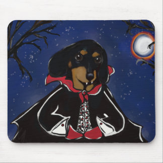 Halloween Dachshund Mouse Pad