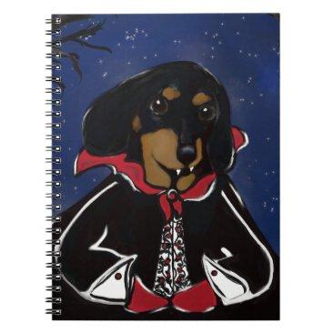 Halloween Themed Halloween Dachshund Notebook