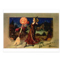 Halloween Dance Postcard
