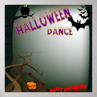 Halloween Dance Poster.