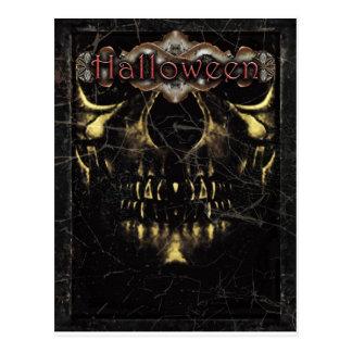 Halloween Dark Poster Template Postcard