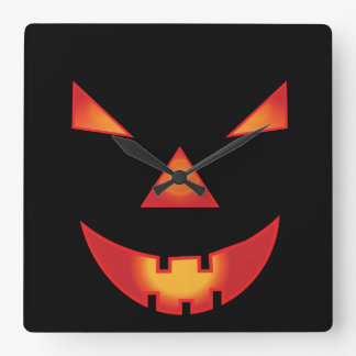 Halloween day. Emar Design Square Wall Clock
