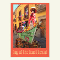 halloween, day of the dead, colorful invite