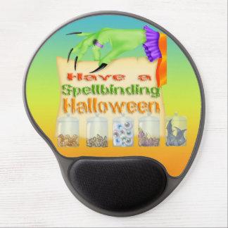 Halloween de hechizo - cojín de ratón del gel de l alfombrilla gel