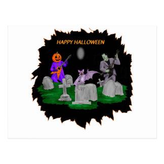 Halloween de metales pesados postal