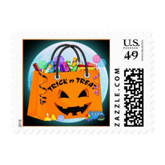 Halloween de Tracy - SRF Estampilla