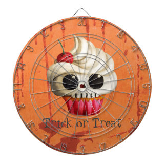 Halloween Deadly Skull Cupcake Dartboards