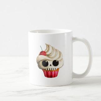 Halloween Deadly Skull Cupcake Coffee Mug