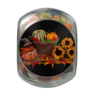 Halloween Decoration jars & tins Glass Candy Jars