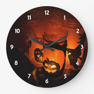 Halloween Decoration Wall Clock