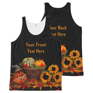 Halloween Decorations custom tank top