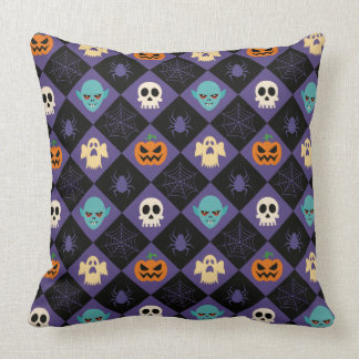 Halloween Dekokissen Throw Pillow