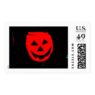 Halloween Delight Postage Stamp