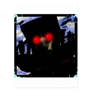 Halloween Demon Postcard