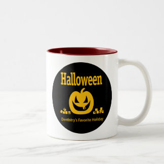 Halloween – Dentistry's Favorite Holiday Two-Tone Coffee Mug