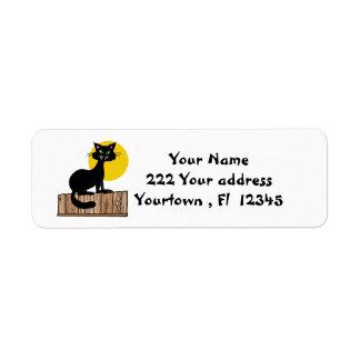 Halloween Design Address Labels