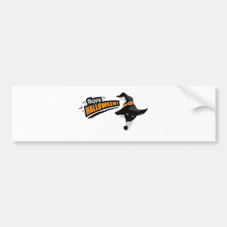 Halloween design bumper sticker