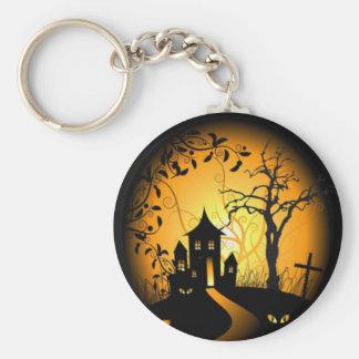 Halloween-design-vector.jpg Basic Round Button Keychain