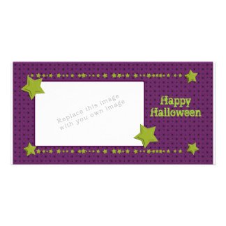 Halloween Design with Spiders Card