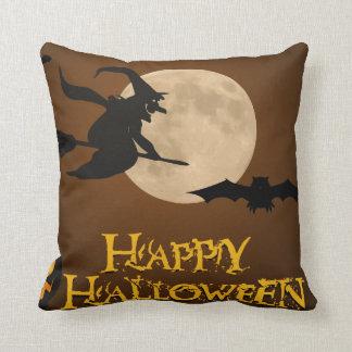Halloween designed throw pillow