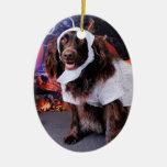 Halloween - Deutscher Wachtelhund - Matilda Ornamentos De Navidad