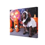 Halloween - Deutscher Wachtelhund - Matilda Impresiones En Lona
