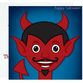 Halloween Devil Card