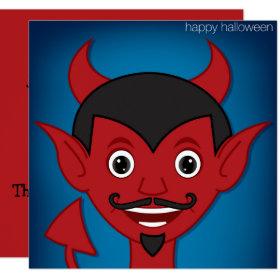 Halloween Devil Invitation