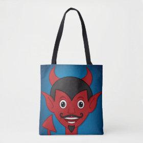 Halloween Devil Tote Bag